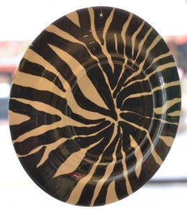 Back of a plate